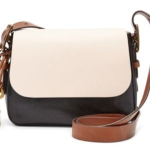 FOSSIL Color Block Harper Crossbody Bag